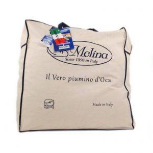 Molina piumino matrimoniale molina 4 stagioni 100% piumino d'oca art. Emozioni