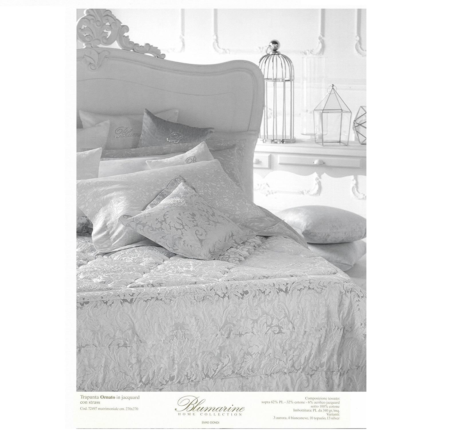 new style 337e6 9f81b Blumarine trapunta invernale matrimoniale più due cuscini 50x50 Ornato made  in italy