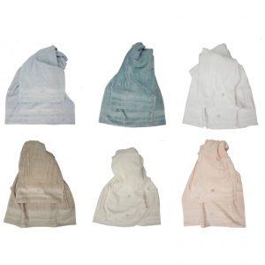 Blumarine asciugamano spugna viso + asciugamno ospite lory