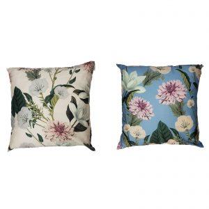 Twinset set due cuscini arredo Lovely in raso di cotone 120 fili cm/q con stampa