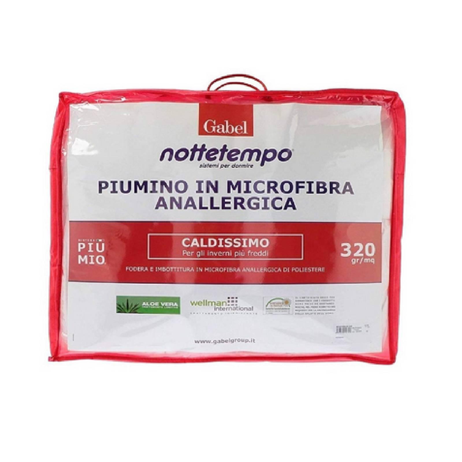 best authentic b97d3 4e2bf Gabel piumino nottetempo microfibra Aloe Vera trattamento Wellman  International
