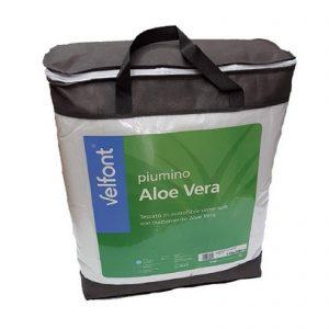 Velfont piumino invernale Aloe Vera in microfibra super-soft 300 grammi m/q