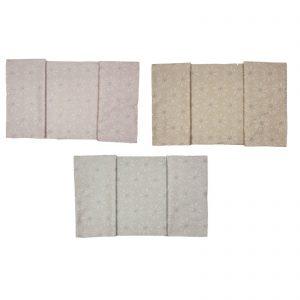 Blumarine Bon Chic completo lenzuola matrimoniale 100% raso di cotone