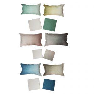 Somma completo lenzuola matrimoniale Deepa in percalle di cotone da 80 fili cm/q
