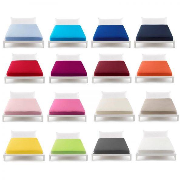 Bassetti pop color lenzuolo con angoli immagine