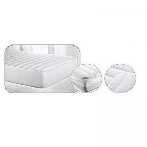 Velfont coprimaterasso in spugna proteggi materasso trapuntato una piazza antiacaro, antiallergico, antimicotico antibatterico double face testato