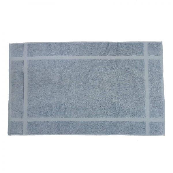 Zucchi tappeto bagno spugna di cotone celeste