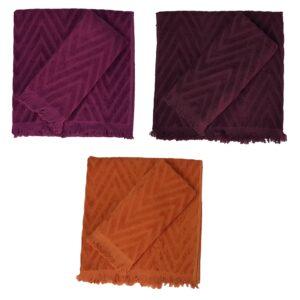 Missoni set asciugamano viso più asciugamano ospite Nat spugna velour