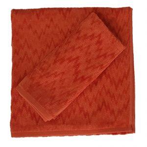 Missoni set asciugamano viso più asciugamano ospite Pilly spugna velour