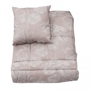 Blugirl trapunta invernale matrimoniale più due cuscini 42×42 Tulipani made in italy