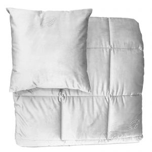 Blumarine trapunta invernale matrimoniale in velluto più due cuscini 42×42 Velvet made in italy