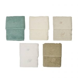 Blumarine asciugamano spugna viso + asciugamno ospite Ariette