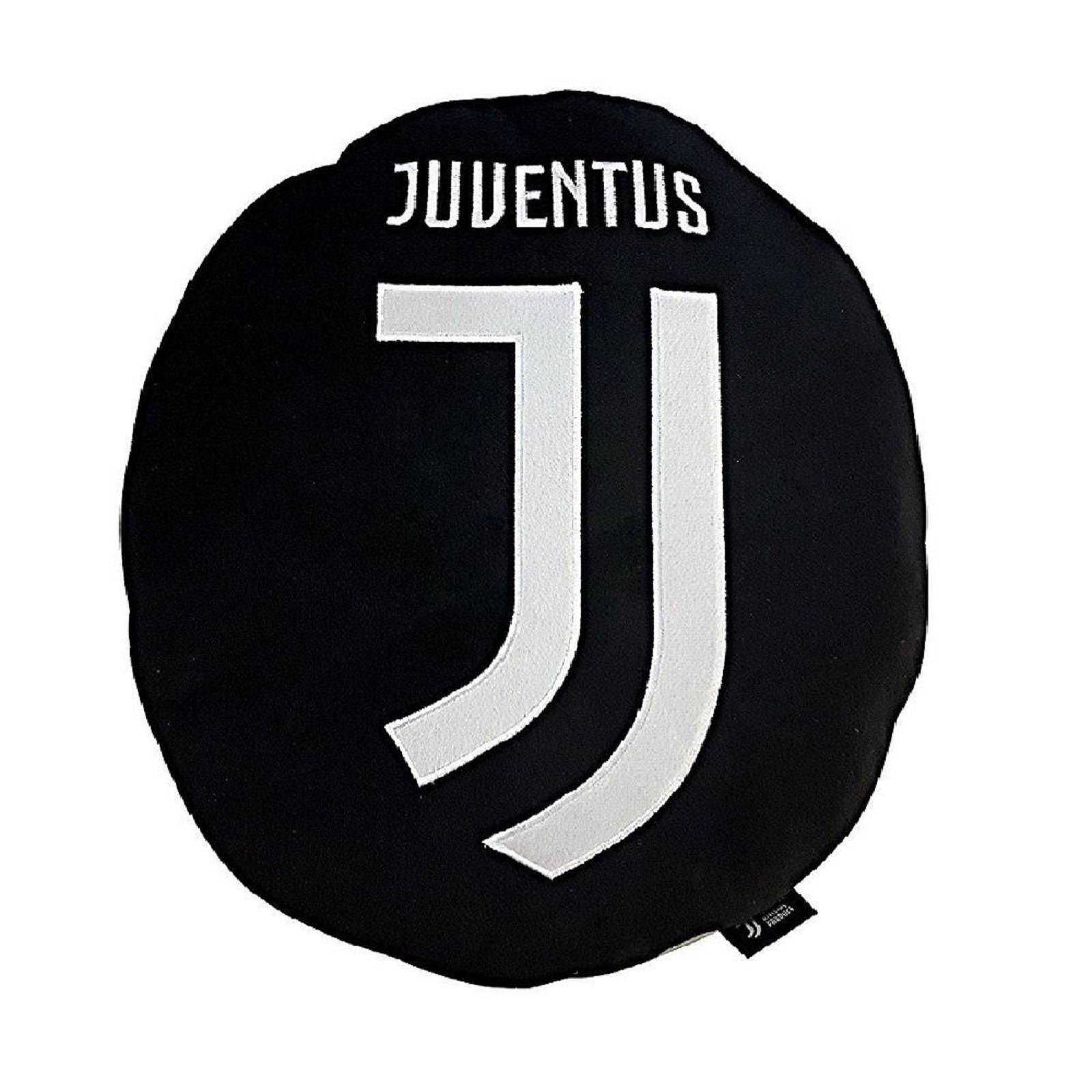 Juventus nuovo logo cuscino arredo sagomato cm 40x40 for Letto logo