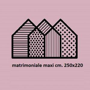 Matrimoniale maxi (cm. 250x220)