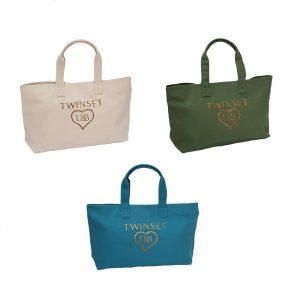 Twinset borsa a mano morbida – shopping bag – borsa mare  misura base cm. 36×17 altezza cm. 34