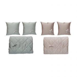 Liu Jo copriletto trapuntato matrimoniale estivo più 2 cuscini arredo modello Logo made in Italy