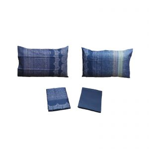 Bassetti granfoulard completo lenzuola raso di cotone da 110 cm/q fili matrimoniale cm. 250×280