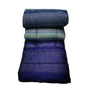 Bassetti Granfoulard trapunta invernale matrimoniale in raso di cotone da 110 fili a cm. quadrato