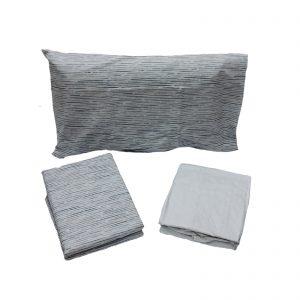 Zucchi completo lenzuola flanella di puro cotone