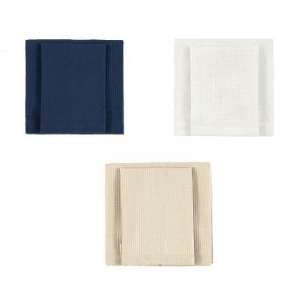 solo tuo asciugamano nido d'ape varianti colore