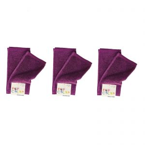 Bassetti pop color set 6 asciugamano spugna lavette cm. 30×30 da 500 gr/mq