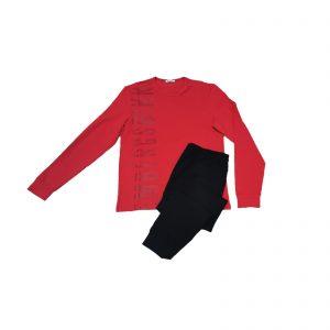 bikkembergs pigiama big logo longewear